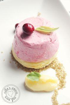 Cake's Amore... and more: cosmopolitan in mousse su un disco di bigne' e cur...