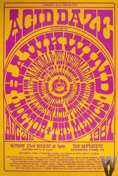 ACID DAZE: Hawkwind, Doctor+The Medics, Pink Fairies  and more 1987