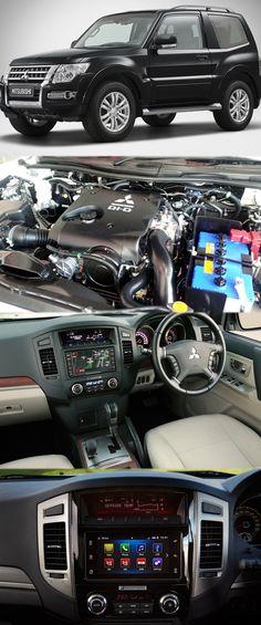 2003 Mitsubishi Lancer Oz Rally Radio Wiring Diagram Tjm Dual Battery System Pajero A Brilliant Family Off Roader Mitubishiengine Https