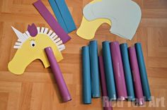 Hobby Horse Craft Idea for Kids. Craft for Kentucky derby theme.