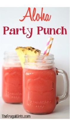 Aloha Party Punch Recipe