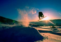 Ski season in Vail, Colorado