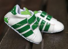 Infant Baby Boy Girl Soft Sole Crib Shoes Frog Sneaker Size Newborn to 18 Months | eBay