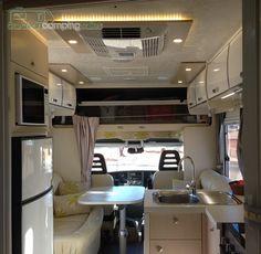 2016 Avida Eyre Motorhome Interior Caravans For Sale