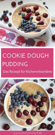 Cookie Dough Pudding – The recipe for sweet chickpea porridge. Vegan & gluten-free, full of nutrients, healthy and delicious. Cookie Dough Pudding – The recipe for sweet chickpea porridge. Vegan & gluten-free, full of nutrients, healthy and delicious. Cookie Dough Vegan, Cookie Dough Recipes, Chocolate Chip Cookie Dough, Easy Cookie Recipes, Paleo Dessert, Healthy Dessert Recipes, Baby Food Recipes, Vegan Recipes, Desserts Végétaliens