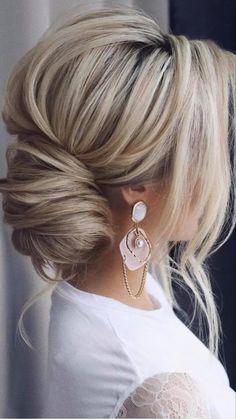 Short Hair Styles Easy, Medium Hair Styles, Curly Hair Styles, Natural Hair Styles, Hair Medium, Short Cuts, Wedding Hairstyles For Long Hair, Bride Hairstyles, Hairstyles Haircuts