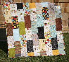 Puppy Quilt Baby Boy Patchwork Kids Baby by SunnysideDesigns2, $149.00
