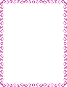 S spiral border pink