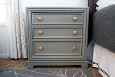 Nightstand before and after @natalme.com