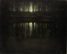 Edward Steichen, The Pond Moonlight (1906)