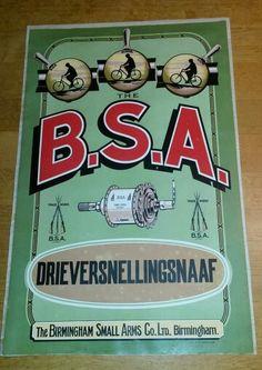 BSA ad .......