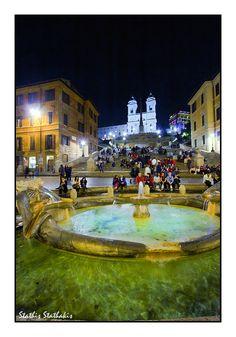 Spanish Steps, Rome, Italy Copyright: Stathis Stathakis
