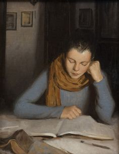 Reading (2010). Daniela Astone (Italian, born 1980). Oil on canvas. The cultural city of Florence provided Astone with the opportunity to deepen her knowledge and love of the art by both challenging and motivating her. Daniela's first experience in...