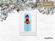 Funny Character, Characters, Etsy Shop, Illustration, Comic Drawing, Postcards, Yellow, Figurine, Illustrations