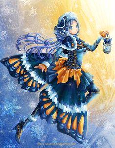 Winter Butterfly by Eranthe on DeviantArt