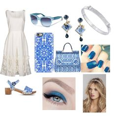 official by katheeja-clara on Polyvore featuring polyvore mode style Philosophy di Alberta Ferretti Dolce&Gabbana Swarovski Casetify Express Holy Ghost