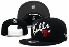 NBA New Era x Chicago Bulls 9FIFTY Snapbacks Hats Black 795 8775|only US$8.90
