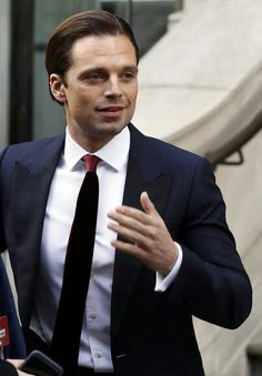 Sebastian Stan at the European Premiere of Captain America Civil War April 26, 2016