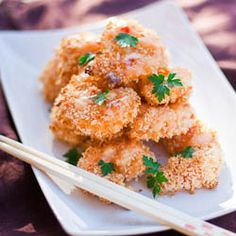 Banicg Bang Shrimp - crispy, crunchy, delious and best of all it's baked!