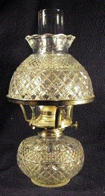 Wexford Lamplighter Farms Glass Oil Lamp | eBay
