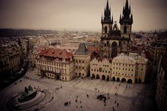 Old town square, http://www.bihiprague.com/photo-tours-in-prague/  #photographyinprague #streetphotographyinprague #phototoursinprague #35mmphotographyprague #privatephototoursinprague #photography