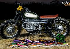 Скрэмблер на базе мотоцикла УРАЛ от аргентинской мастерской Lucky Custom. 2