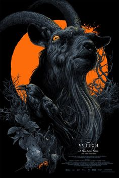 Vance Kelly's 'Black Phillip' Black Light variant (printed with Fluorescent Inks)