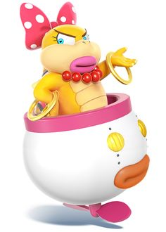 Wendy O. Koopa - Characters & Art - Super Smash Bros. for 3DS and Wii U