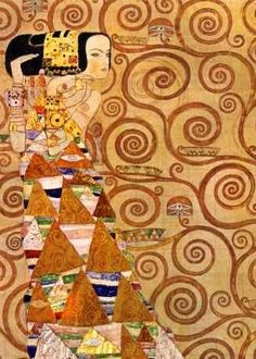 The Waiting - Gustav Klimt (1862-1918)