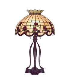 """Meyda 31.5""""H Roseborder Table Lamp"""