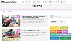 Ristorazione e social media marketing in una nuova rubrica Food 2.0 sul Il Giornale del Cibo