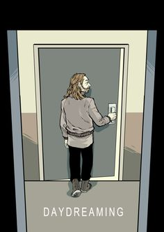 Thom Yorke illustration - Daydreaming - #Radiohead