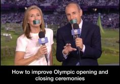 Olympic humor