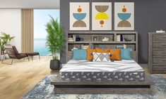 """Aireloom Luxury Firm Mattresses Airecool A/R 12"""" 
