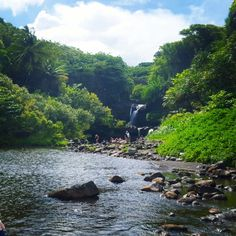 Maui Seven Sacred Pools is an amazing place to swim in pools with cascading waterfalls. Travel Maui Hawaii's Haleakala National Park near Road to Hana.