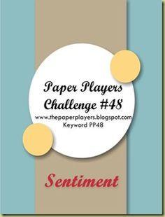 wee inklings: Paper Players 48