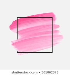 Similar Images, Stock Photos & Vectors of Abstract pink brush background with rectangle geometric frame rose gold color. Logo background for beauty and fashion - 1316150948 Brush Background, Poster Background Design, Photo Background Images, Logo Background, Watercolor Background, Wallpaper Shelves, 8k Wallpaper, Unique Wallpaper, Wallpaper Backgrounds