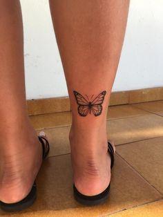 wonderful butterfly tattoo ideas for pretty tattoo lovers 16 ~ my.easy-cook… wonderful butterfly tattoo ideas for pretty tattoo lovers 16 ~ my. wonderful butterfly tattoo ideas for pretty tattoo lovers Back Of Ankle Tattoo, Back Of Leg Tattoos, Ankle Tattoos For Women, Simple Leg Tattoos, Cute Ankle Tattoos, Pretty Tattoos For Women, Dainty Tattoos, Unique Tattoos, Small Tattoos