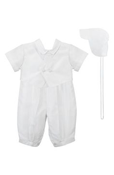 C.I. Castro & Co. Christening Romper & Cap (Baby Boys) available at…