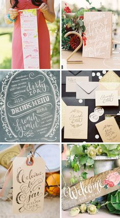 Love the hand lettering + calligraphy. Drawn to chalkboard lettering, too Chalkboard Lettering, Typography Fonts, Hand Lettering, Stationery Design, Branding Design, Soap Packing, Build Your Own Website, Invite, Invitations