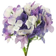 Part of Bouquet | Purple Hydrangea with Small Bloom | Shop Hobby Lobby