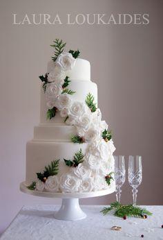 """Winter Wedding Cake"" by Laura Loukaides"