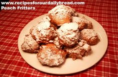Peach Fritters from http://recipesforourdailybread.com/2012/07/03/peach-fritters-recipe-pictures/