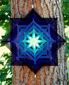 Yarn Art Mandalas and Spirit Dolls by Renee Laurain by GoldenGlade Mandala Pattern, Mandala Art, Yoda Lightsaber, God's Eye Craft, Dream Catcher Craft, Magic Crafts, Gods Eye, Weaving Projects, Lucid Dreaming