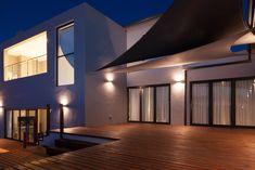 162 on Sunbird - Crontech Consulting Timber Deck, Timber Wood, Property Development, Design Development, Deck Patio, Backyard, Stacker Doors, Double Storey House, Deck Steps