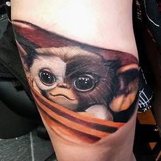 Gizmo Tattoo by Alex Wright