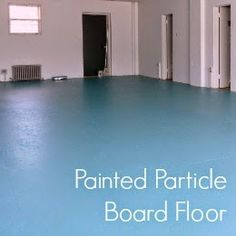 Dans Le Lakehouse Diy Window Covering For Awkward Particle Board Floor Painted Boards