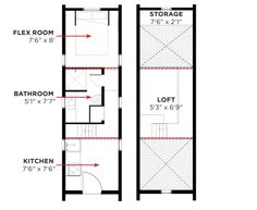 Tumbleweed Tiny House Plans elm | tiny houses, tumbleweed tiny house and house