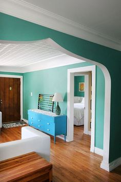 Anne & Tahoe's Barnum Bungalow — House Tour Love the color AND in my 'hood! :)