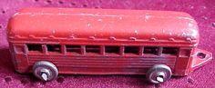 Vintage Cast Iron Miniature Train Caboose Metal Wheels #Unbranded